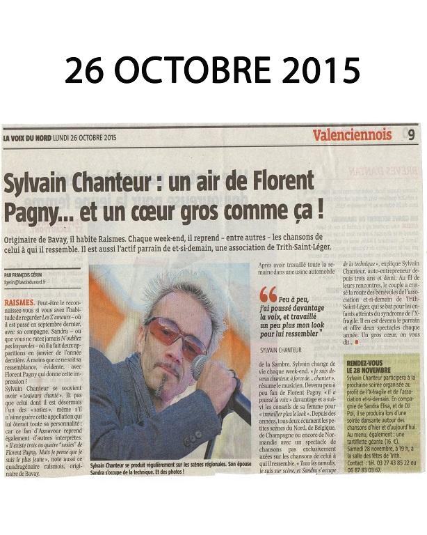 Octobre 2015 Show Florent Pagny