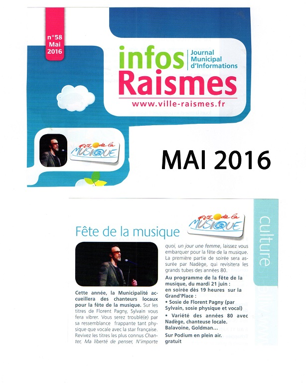 Journal municipal de raismes Mai 2016